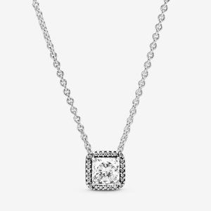Pandora Jewelry - Timeless Elegance Necklace with Clear CZ